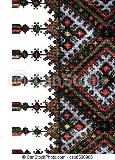 the boundary of the cross-stitch - csp8530908