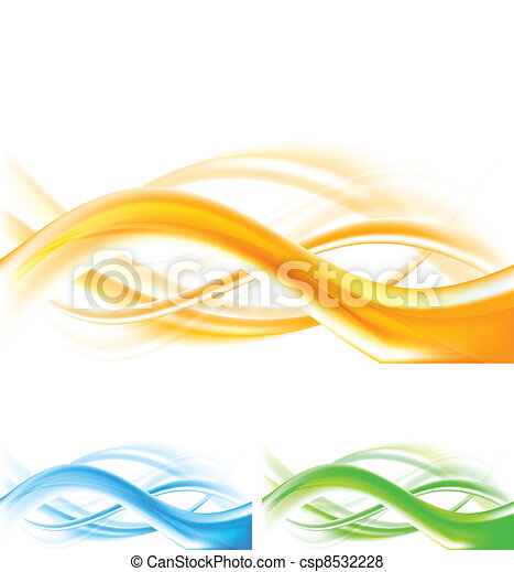 Abstract wavy backgrounds - csp8532228