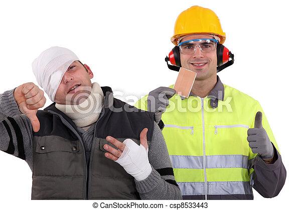 säkerhet, första - csp8533443