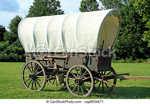 Covered Wagon - csp8534471