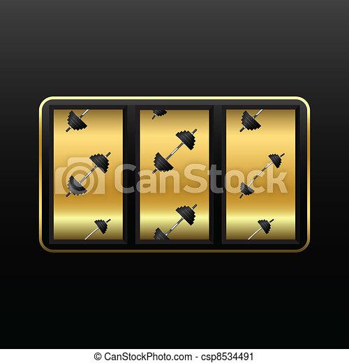 weights slot machine - csp8534491