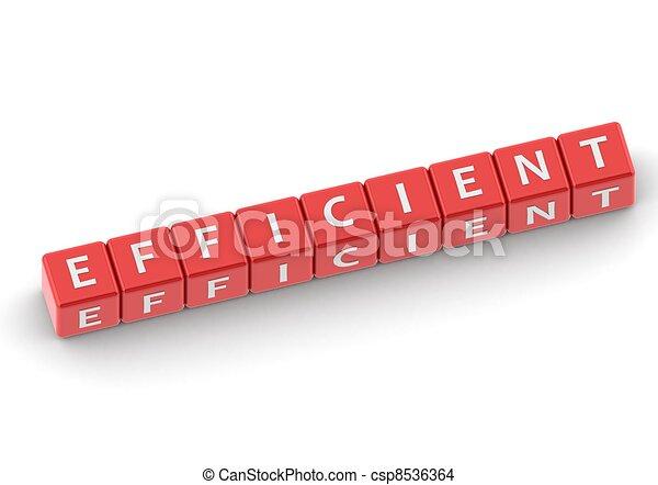 Buzzwords: efficient - csp8536364