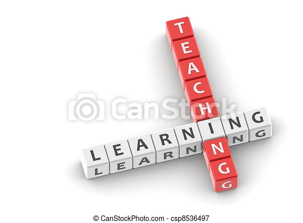Buzzwords: teaching learning - csp8536497