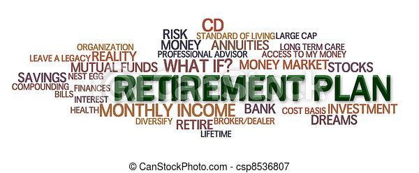 Retirement Plan - csp8536807