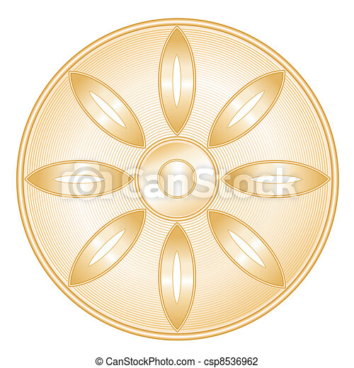 Buddhism Symbol - csp8536962