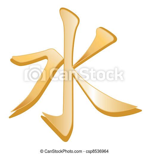 símbolo, confucionismo - csp8536964