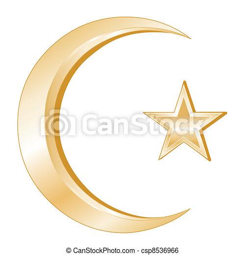 Islam Symbol - csp8536966