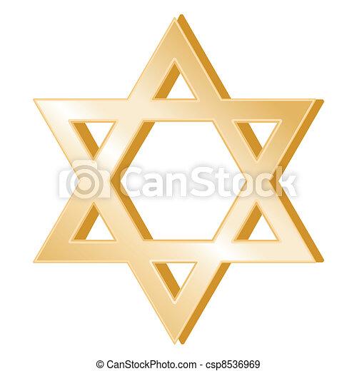 Judaism Symbol - csp8536969