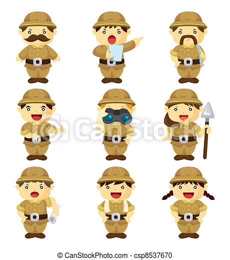 set of Adventurer people - csp8537670