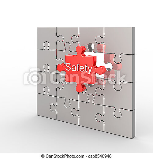 Safety puzzle - csp8540946