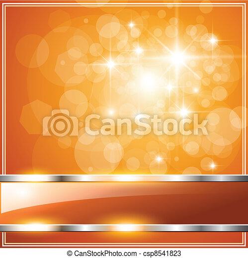 Orange Background - csp8541823