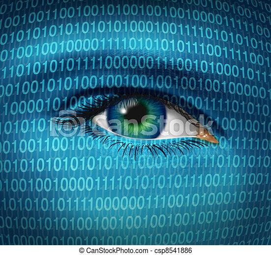 sicurezza, internet - csp8541886