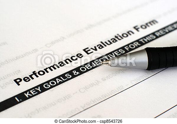 Performance evaluation form  - csp8543726