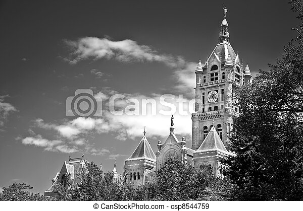 County Building in Salt Lake City - csp8544759