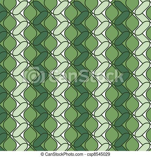ornamental green color backdrop - csp8545029