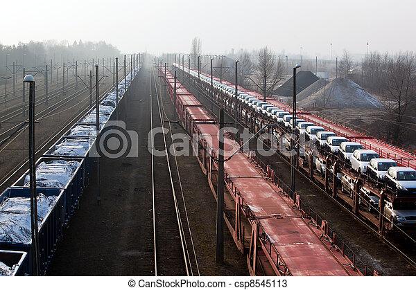transporte, carga - csp8545113