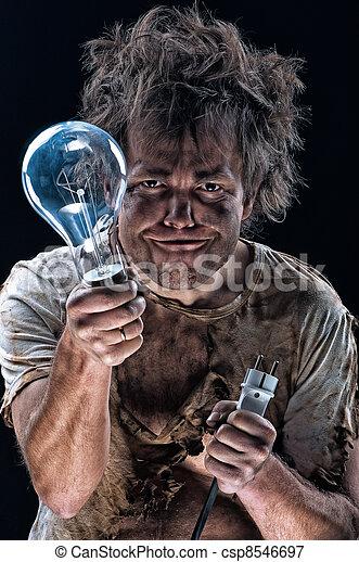 photo rigolote electricien