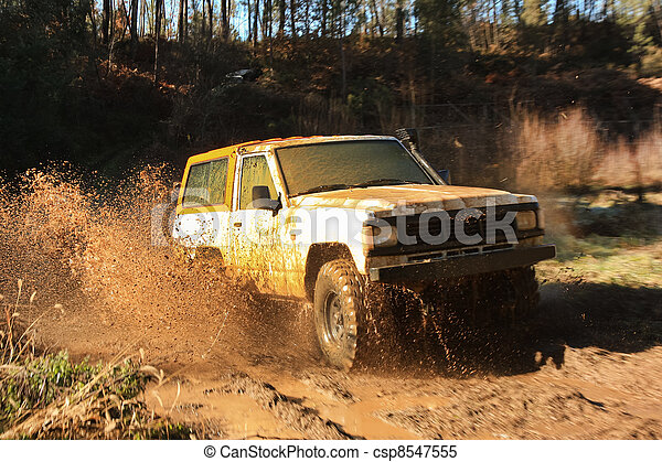 Jeep adventure race - csp8547555