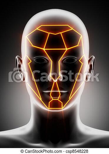 Plastic surgery beauty lines - csp8548228