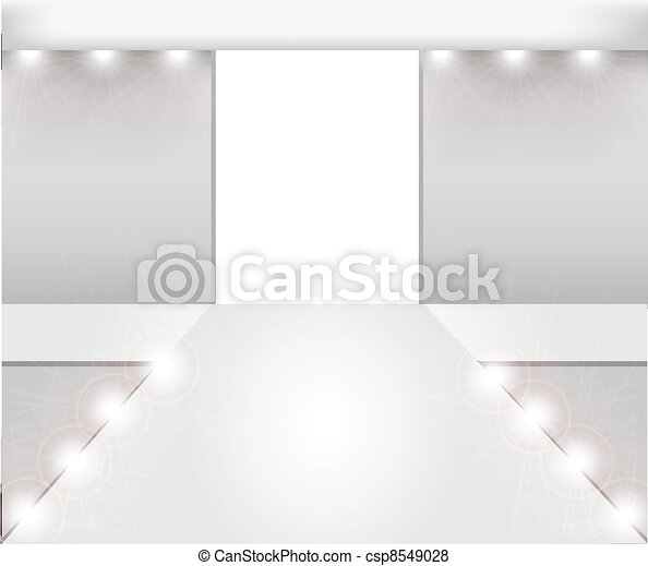 empty fashion runway - csp8549028