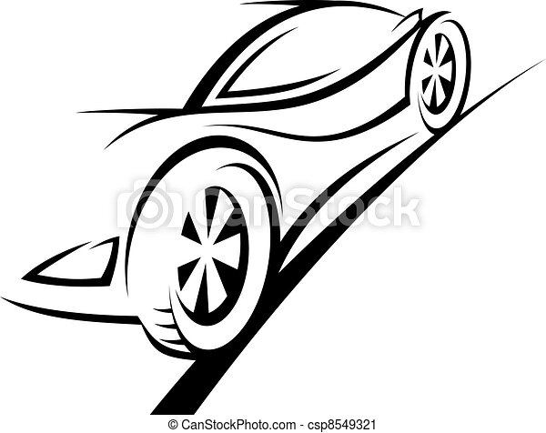 Sport car - csp8549321