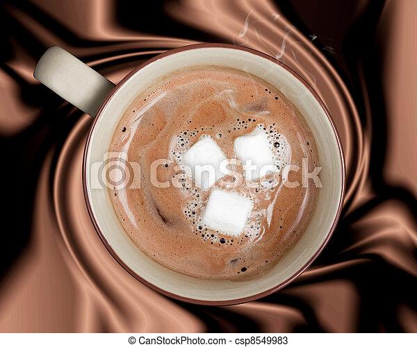 Hot Chocolate - csp8549983