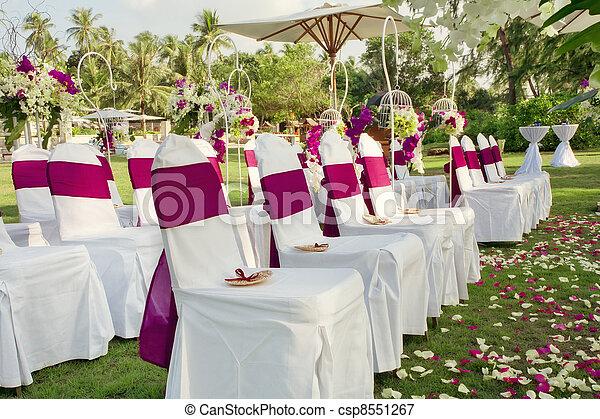 bröllop - csp8551267