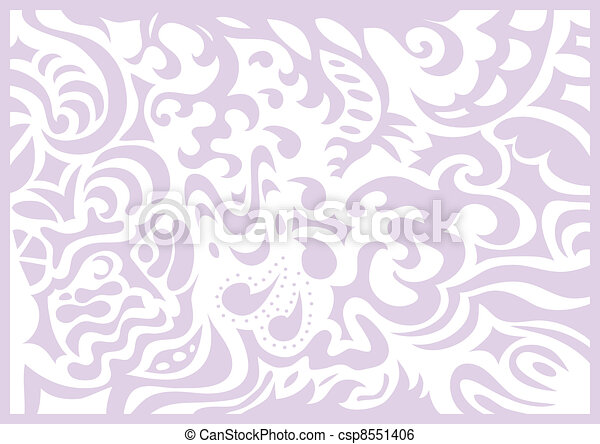 Lavender gentle romantic background - csp8551406
