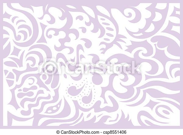 Lavender gentle romantic background - csp8551406