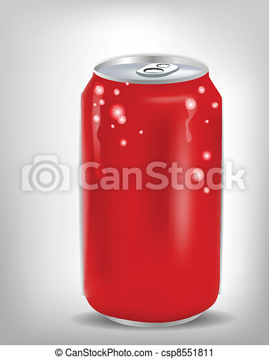 Soda Red can - csp8551811