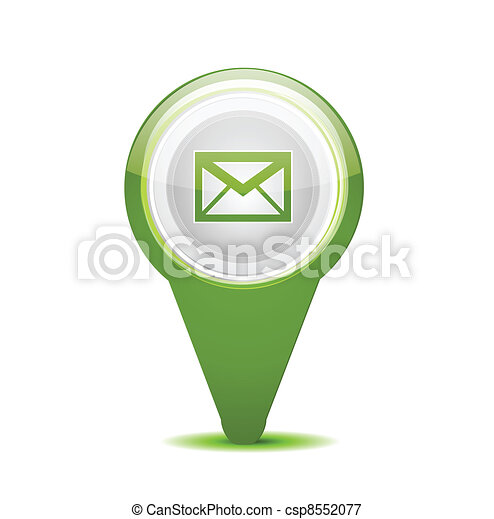 Email message icon - csp8552077