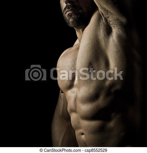 bodybuilding man - csp8552529