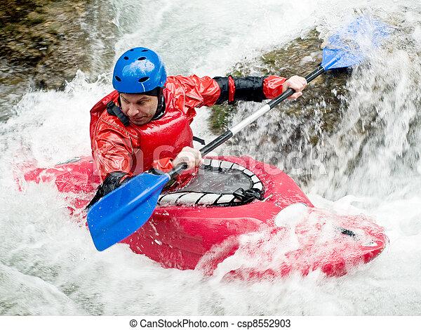kayaker - csp8552903