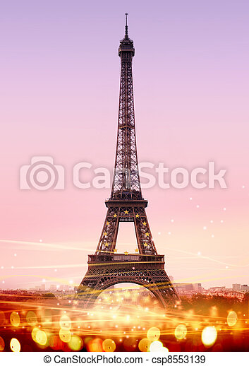 Eiffel Tower - csp8553139