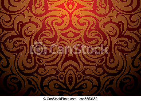 Decorative abstraction - csp8553659