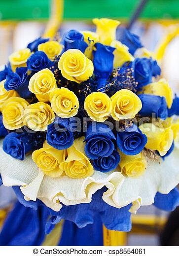 Bouquet De Rose Jaune