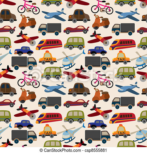 seamless transport pattern - csp8555881