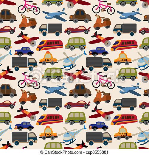 seamless transport pattern - csp8555881