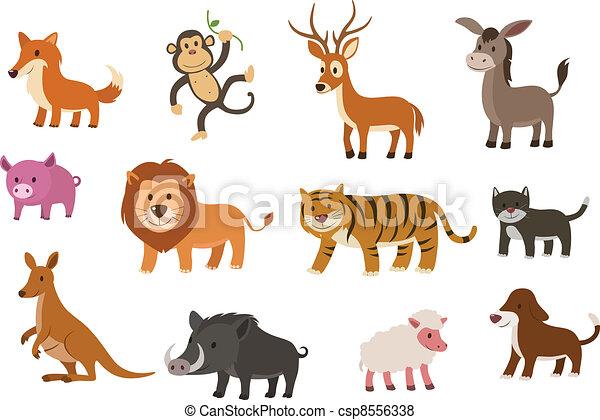 vector animal collection - csp8556338