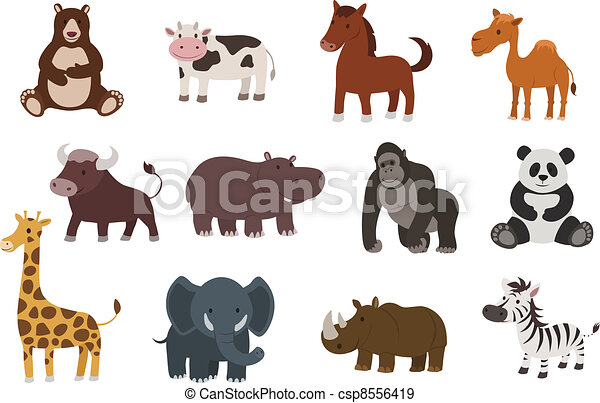 vector animal collection - csp8556419