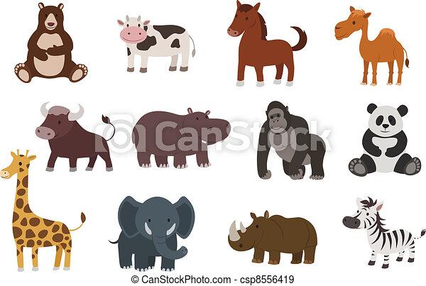 vector animal collection - csp8556419