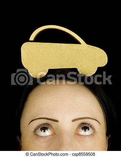 car finance worry - csp8559508