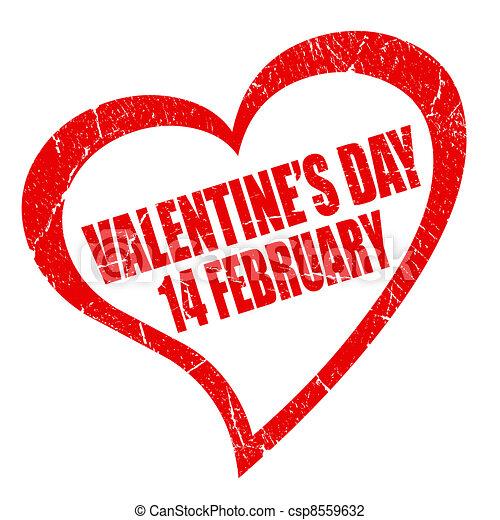 Valentines day symbol - csp8559632