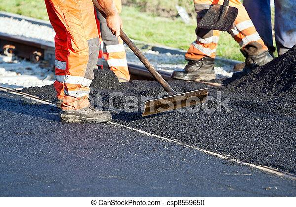Road construction - csp8559650