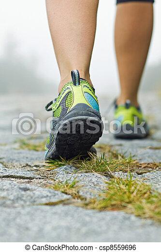 Walking exercise - csp8559696