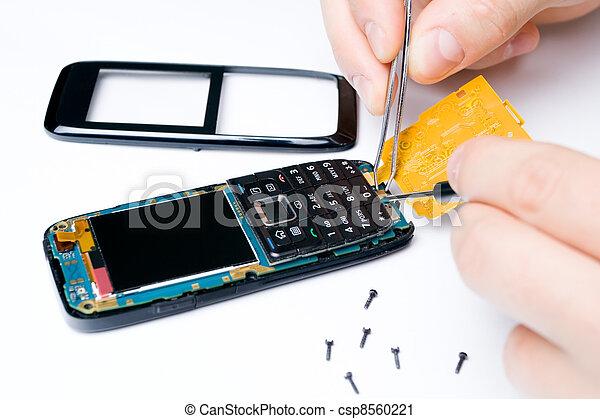 Mobile phone repair services - csp8560221
