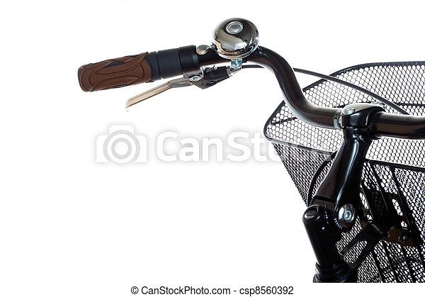 都市, 自転車, ハンドル - csp8560392