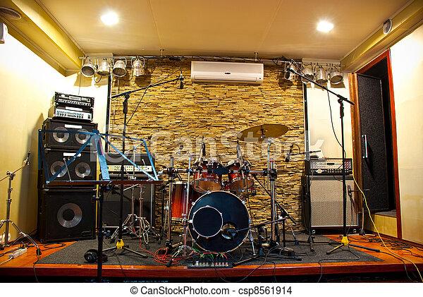 musik,  studio - csp8561914