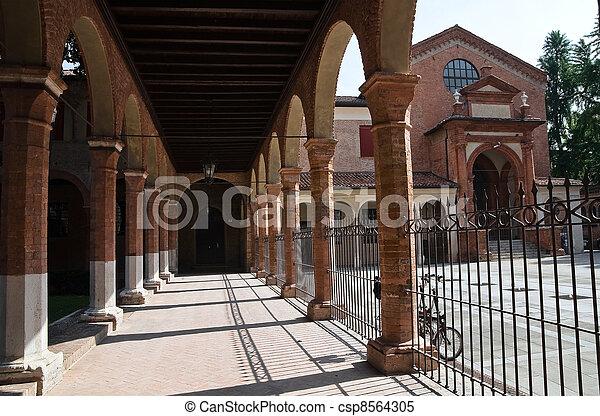 Oratory of St. Anna. Ferrara. Emilia-Romagna. Italy. - csp8564305