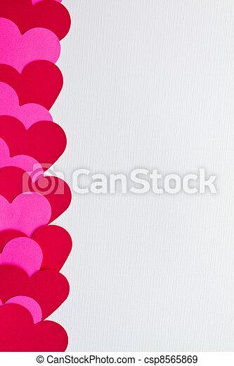 valentines, Dia, cartão - csp8565869